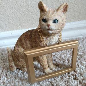 Kirkland's ceramic tabby cat decor
